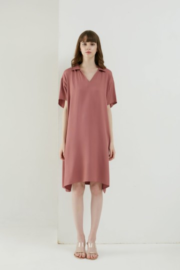 SOUNDLY DRESS ROSE