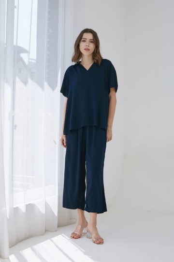 SOUNDLY SET LONG NAVY