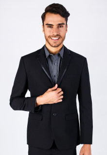 Regular Fit - Evening Formal Suits - Black