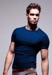 LGS Innerwear - Blue Navy - Round Neck - 1 Pcs