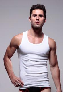 LGS Underwear - Putih - Tank Top - 1 Pcs