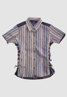 Regular Fit - Ladies Shirt - Brown - Salur Custom