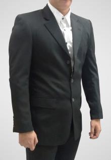 Regular Fit - Formal Suits - Black - Single Vent