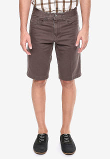 Celana Katun - Coklat Gelap - Tampilan Casual - Model Klasik