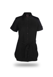 Regular Fit - Ladies Shirt - Black - Fashion