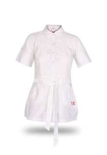 Regular Fit - Ladies Shirt - White - Fashion