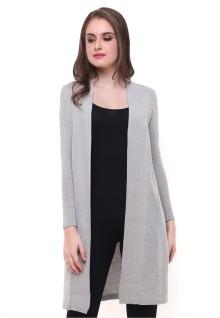 Sweater Wanita - Model Terusan - Abu