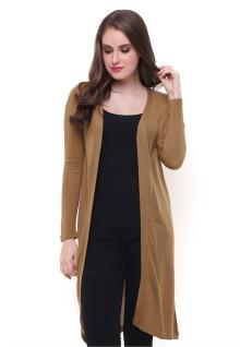 Sweater Wanita - Model Terusan - Coklat