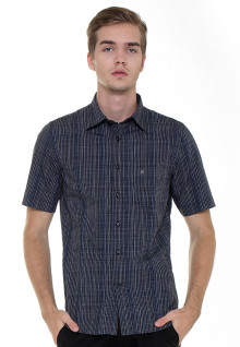 Slim Fit - Formal Shirt - Black - Gingham