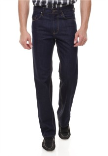 Regular Fit - Celana Jeans - Basic - Biru