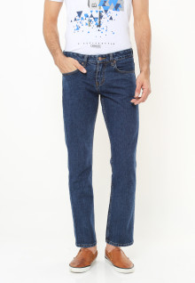 Regular Fit - Jeans - Blue Navy - Basic Model