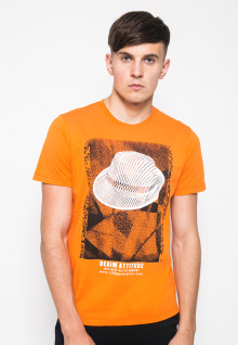 Kaos Youth - Gambar Sablon - Orange