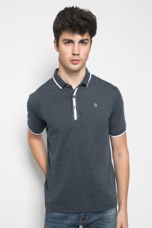 Slim Fit - Kaos Casual - Motif Polos - Abu