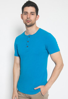 The One - Placket - Biru Muda