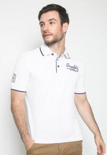 Kaos Fashion - Warna Putih - Lengan Pendek