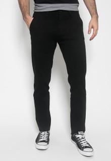 Celana Casual - Hitam - Polos