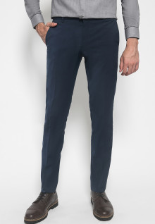 Celana Formal - Johnwin - Navy