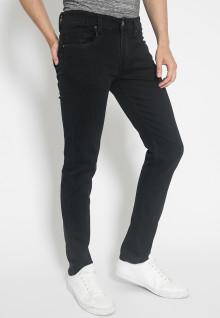 Jeans Premium - Hitam - Slim Fit