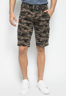 REGULAR FIT - CELANA PENDEK - MOTIF ARMY