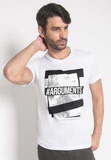 Slim FIt - Youth Boy - Kaos - LGS - Putih - Arguments