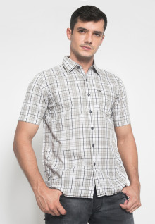 Regular Fit - Kemeja Casual - Motif Kotak-Kotak