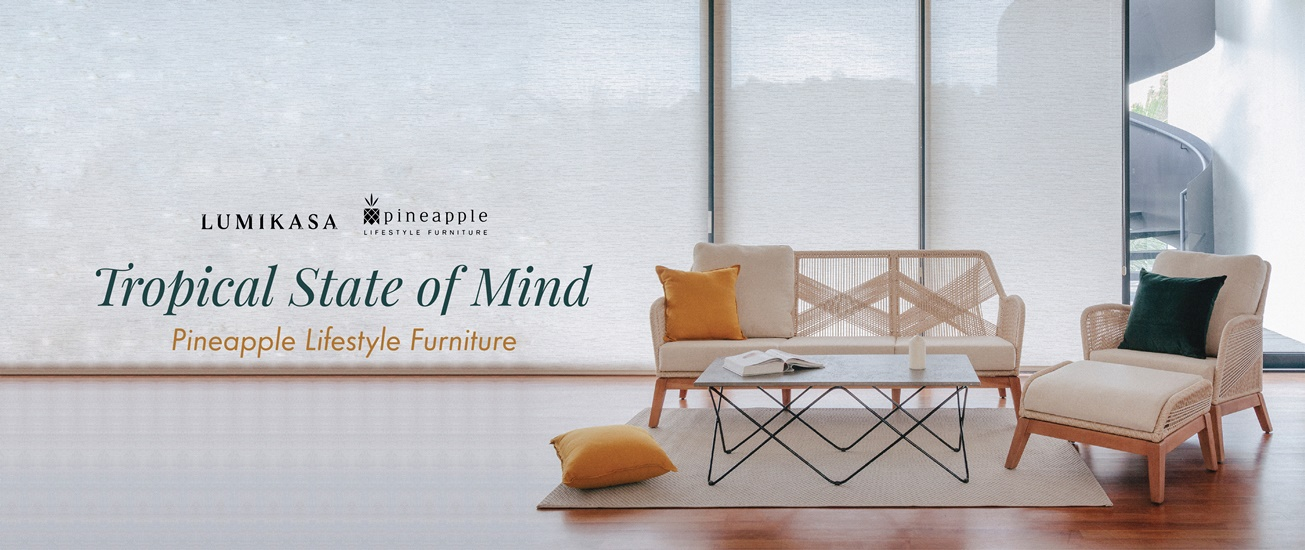 Tropical State of Mind, Pineapple Lifestyle Furniture