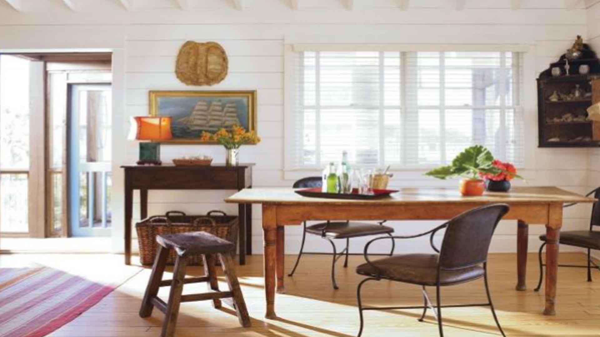 furniture ruang makan kayu sungkai