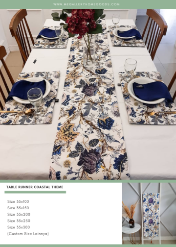 Table Runner Coastal 54 Size 35x120