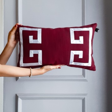 Cover Cushion Burgundy List