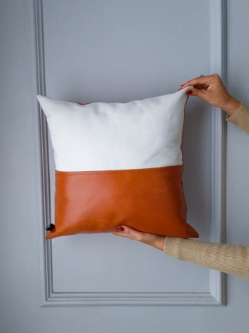 Cover Cushion Oscar White