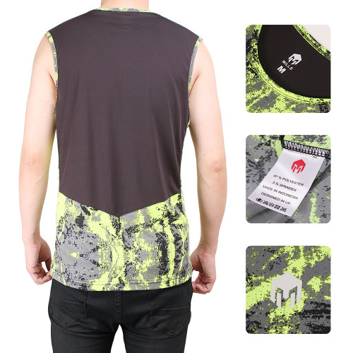 MILLS GYM AND RUNNING SLEEVE LESS STORM 4001