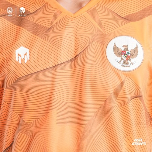 MILLS GARUDA TRAINING JERSEY 1013 GR ORANGE