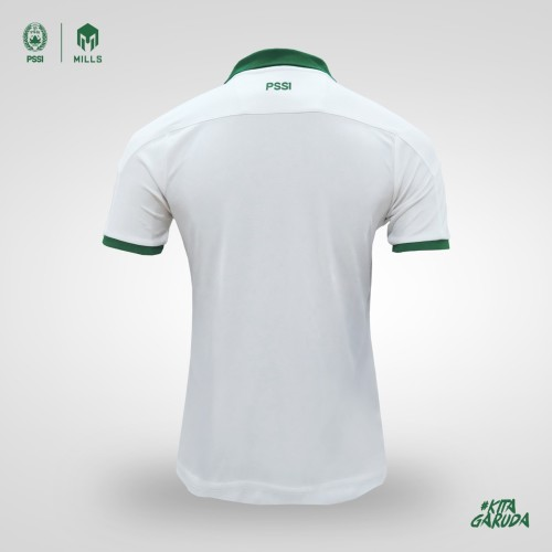 MILLS  AWAY INDONESIA FOOTBALL JERSEY REPLICA VERSION 1015GR WHITE