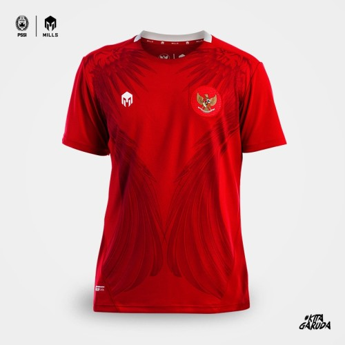 MILLS  HOME INDONESIA FOOTBALL JERSEY REPLICA VERSION 1014GR RED