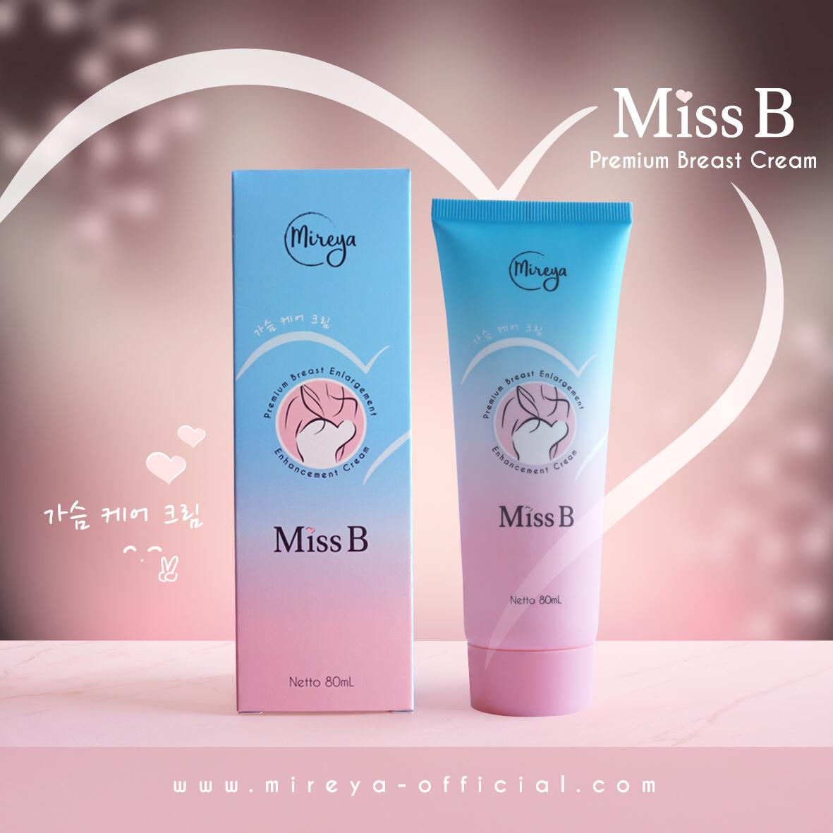 MIREYA MISS B PREMIUM BREAST CREAM image
