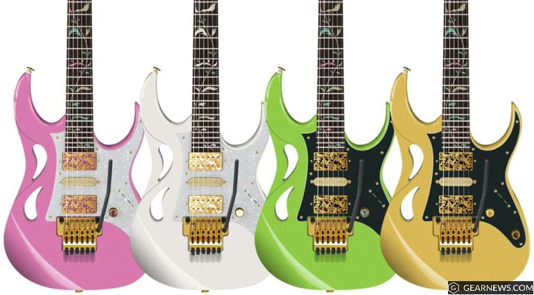 Ibanez Announces New PIA (Paradise in Art) Steve Vai Signature Model COMING SOON to NAFIRI MUSIC! image
