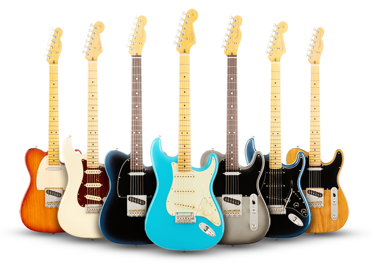 Fender launches the American Professional II series!! COMING SOON TO NAFIRI MUSIC! image