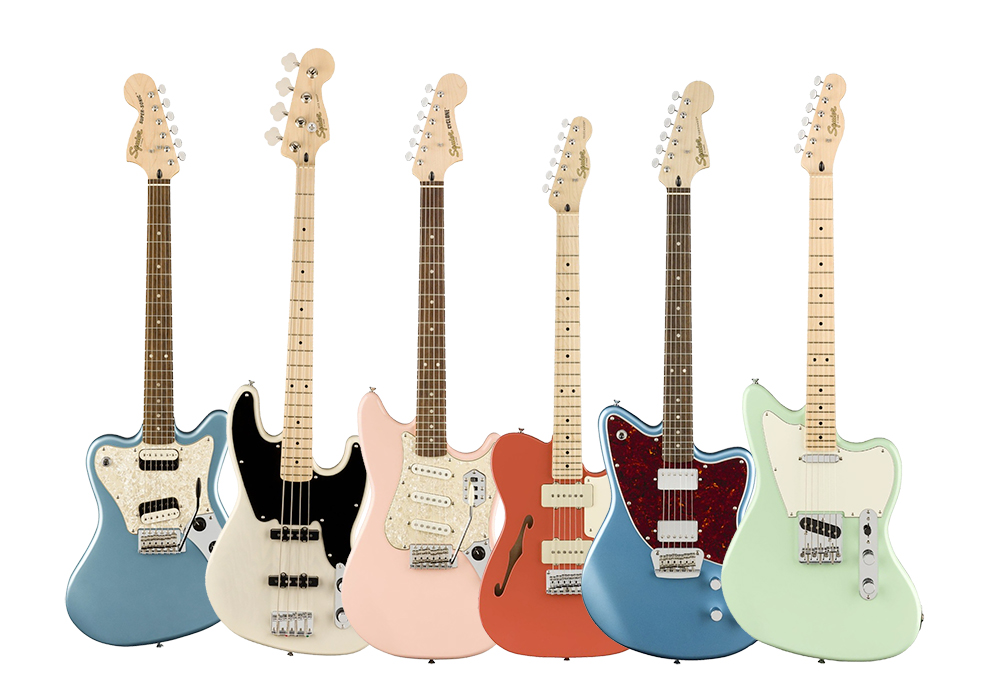 Squier revives forgotten Fender classics with the Paranormal Series!! NOW READY IN NAFIRI MUSIC! image