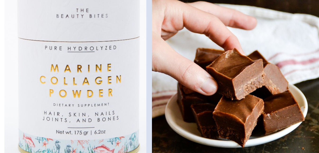 PALEO CHOCOLATE AVOCADO FREEZER FUDGE WITH COLLAGEN image
