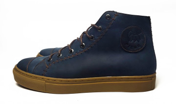 Alley Man Blue Navy
