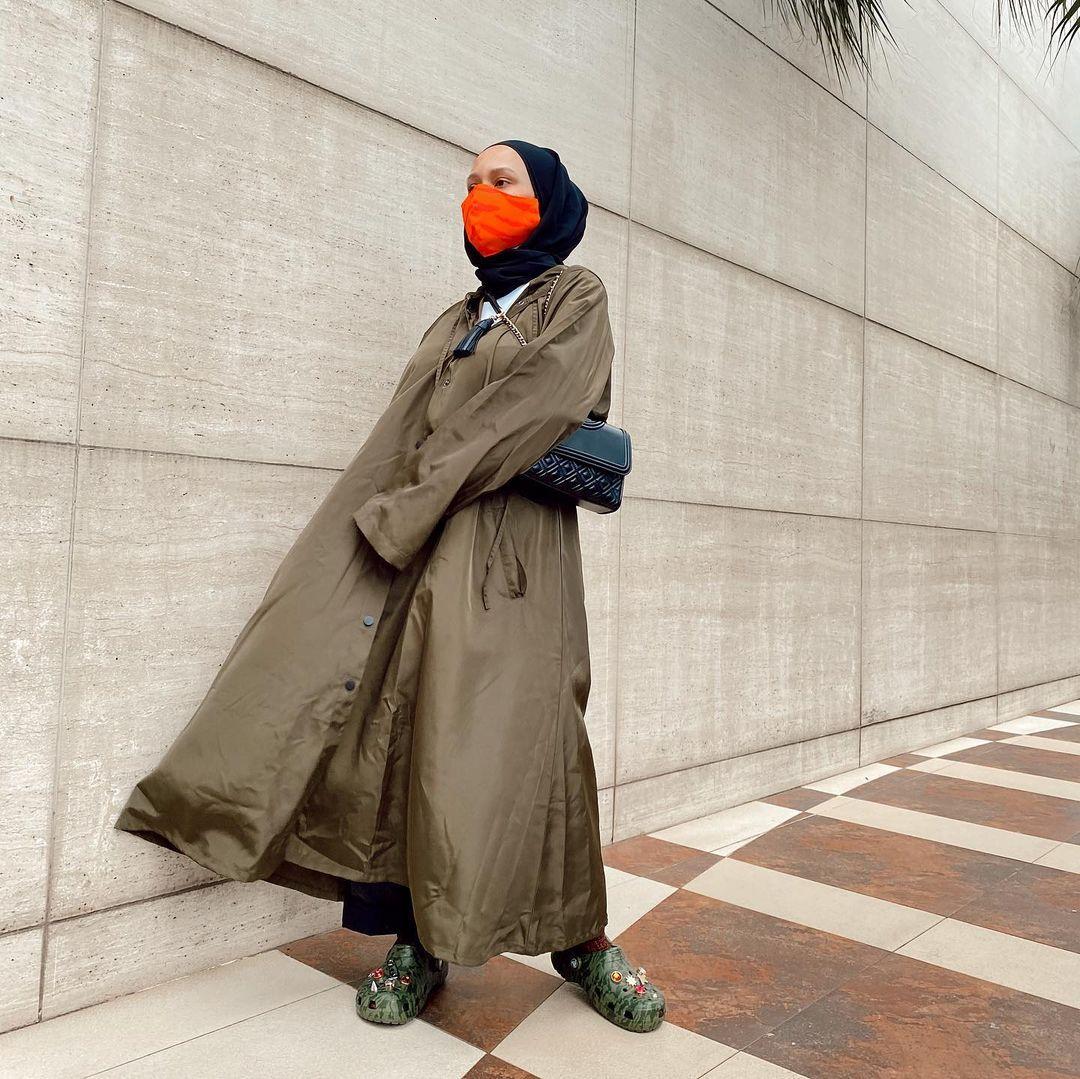 Chairunnisa in #RashawlLook image