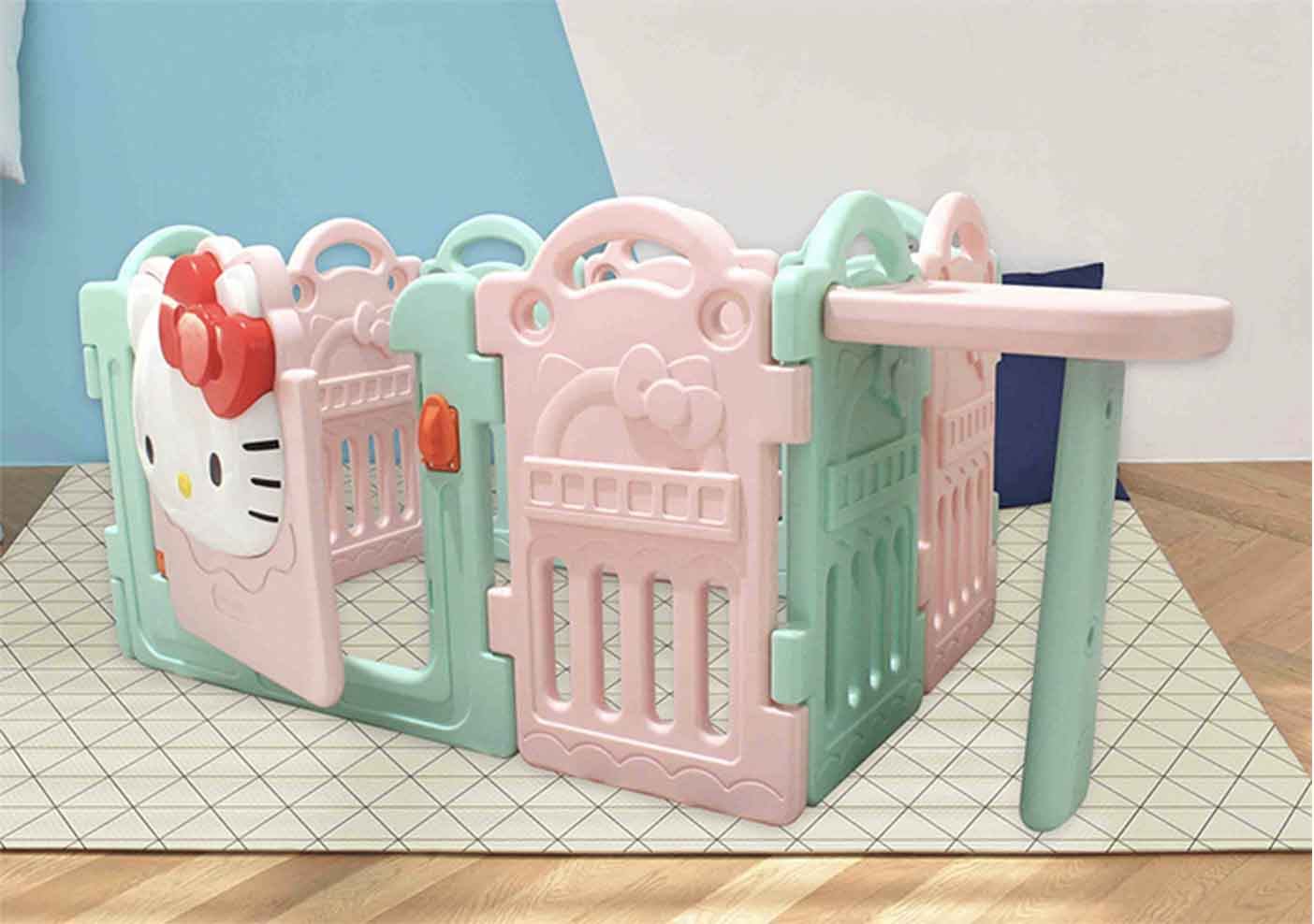 Fence Hello Kitty Coby Haus