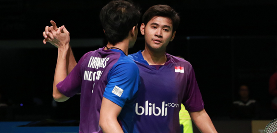All Indonesia Final di Ganda Putra, Australia Open 2016