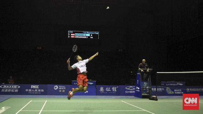Anthony Ginting Ingin Tembus Ranking 10 Besar Dunia