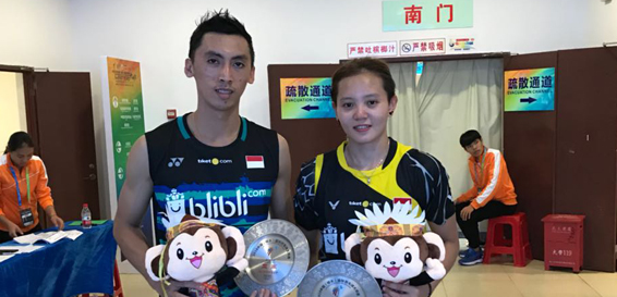 Ronald/Annisa Runner-Up China Masters 2018