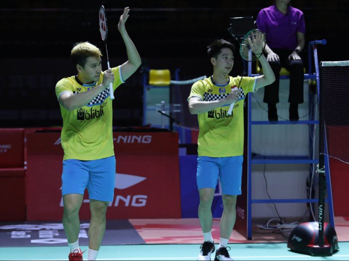 Wakil Ganda Putra Indonesia Rebut Tiket Final Fuzhou China Open 2019