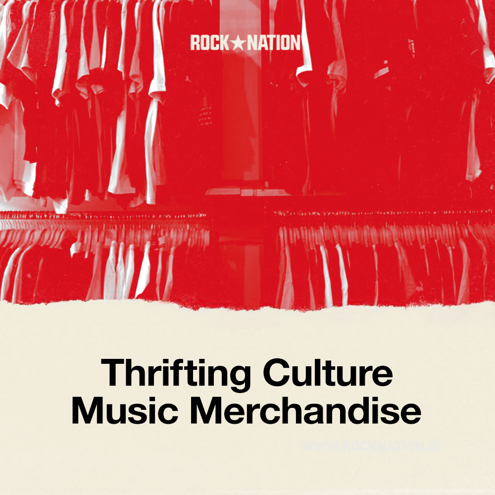 Thrifting Culture Music Merchandise image
