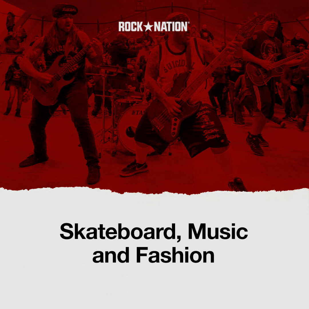 Skateboard, Musik dan Fashion image