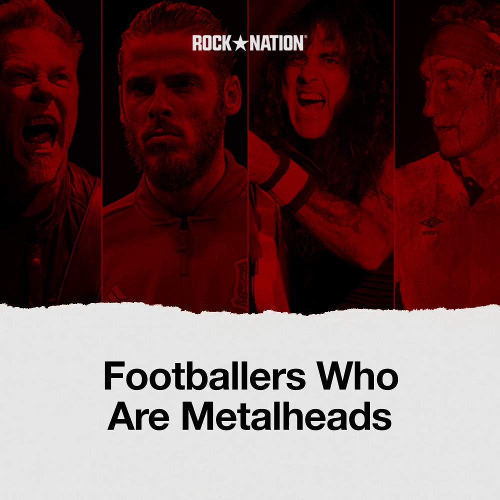 Footballers Who Are Metalheads image