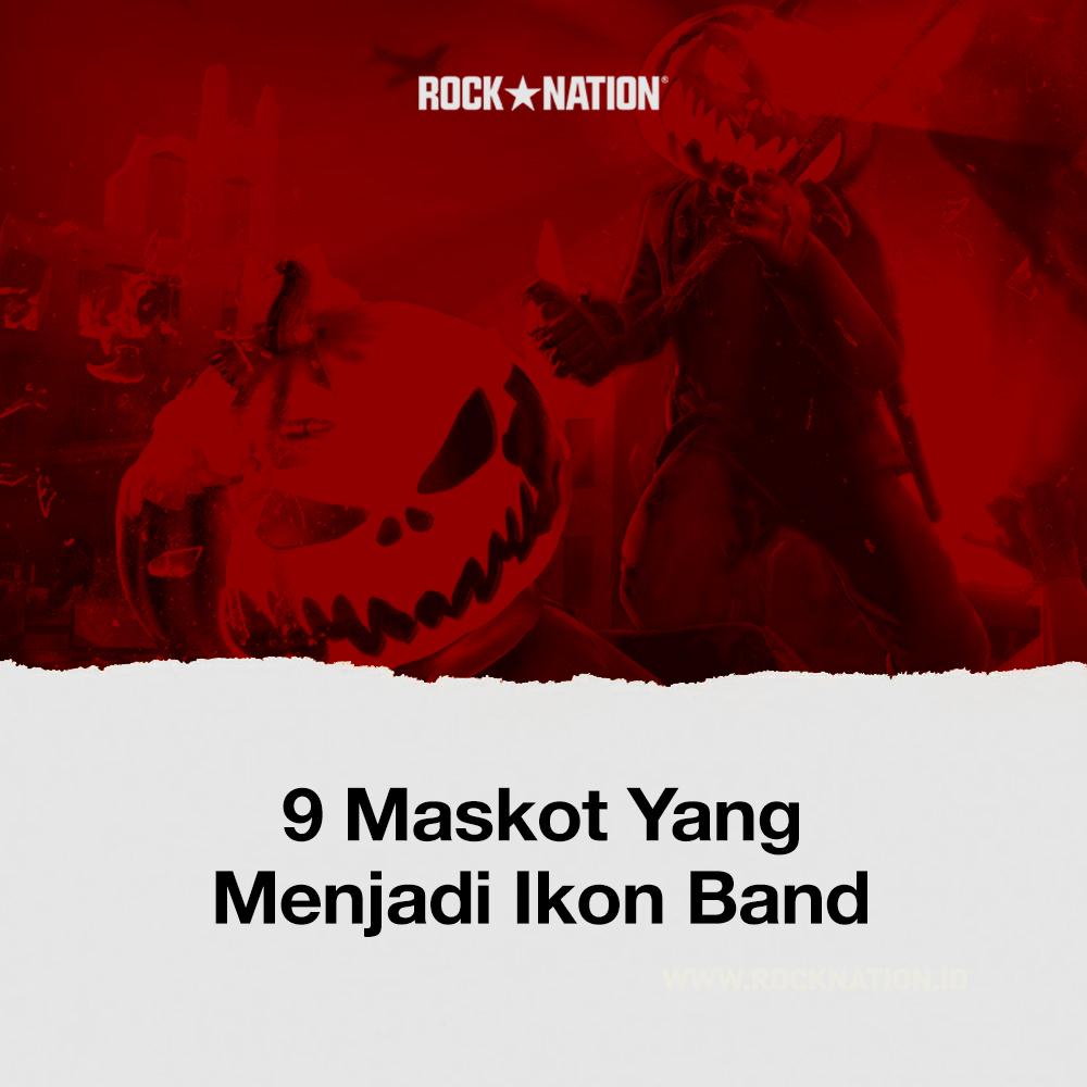 9 Maskot Yang Menjadi Ikon Band image